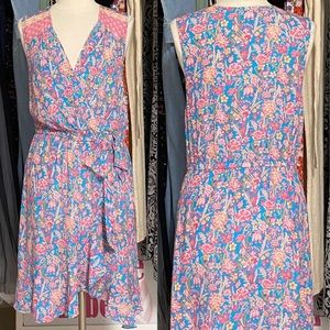 Tracy Reese Floral Faux Wrap Dress